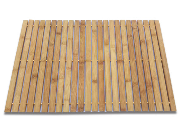 Rectangular Wood Rollout Mat